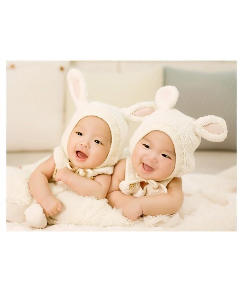 Sund baby med økologisk babytøj
