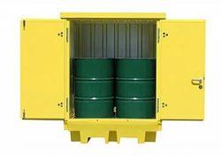 Smarte miljøcontainere gør det nemt at opbevare olie og kemikalier forsvarligt