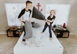 Indretning med børnemøbler